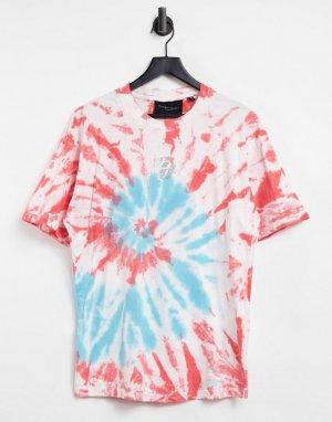 Oversized-футболка с принтом тай-дай -Многоцветный Criminal Damage