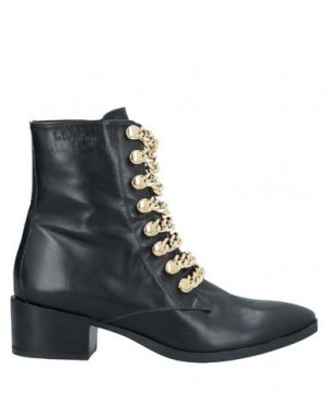 Полусапоги и высокие ботинки LE DANGEROUGE. Цвет: черный