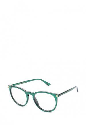 Оправа Gucci GG0027O006. Цвет: зеленый