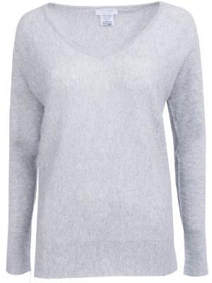 Кашемировый пуловер Gran Sasso. Цвет: серый