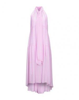 Длинное платье CAMILLA AND MARC. Цвет: сиреневый