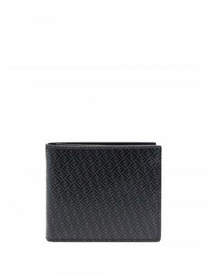 Бумажник с логотипом FF Fendi. Цвет: черный
