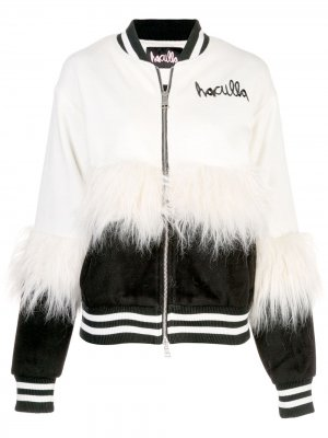 Куртка-бомбер Haculla. Цвет: белый