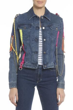 Куртка GF FERRE. Цвет: мультицвет