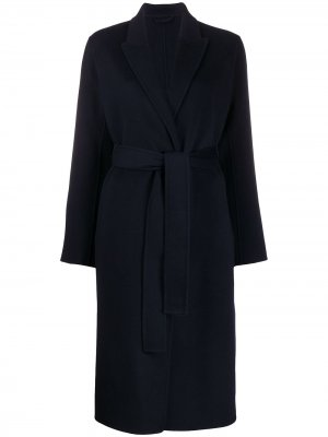 Пальто Alexa с поясом Filippa K. Цвет: синий