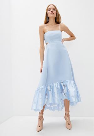 Платье Pinko. Цвет: голубой
