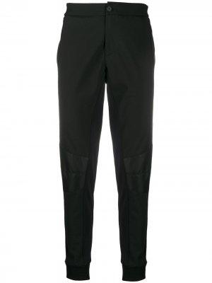 Зауженные брюки средней посадки Les Hommes. Цвет: черный