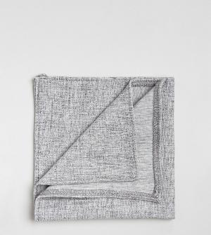 Фактурный трикотажный платок для пиджака Noak. Цвет: серый