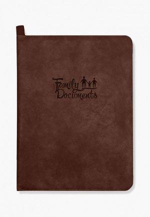 Папка Феникс+ Escalada. Цвет: коричневый