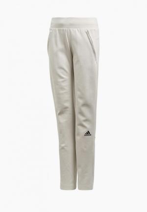Брюки спортивные adidas YG ZNE STRIKE P. Цвет: серый