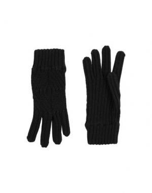 Перчатки DIRK BIKKEMBERGS. Цвет: черный