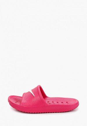 Сланцы Nike KAWA SHOWER LITTLE/BIG KIDS SLIDE. Цвет: розовый