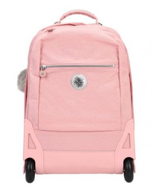 Чемодан/сумка на колесиках KIPLING. Цвет: розовый