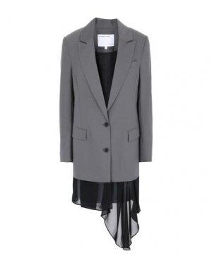 Пиджак DESIGNERS, REMIX. Цвет: серый