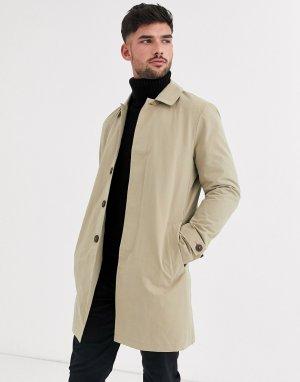Макинтош верблюжьего цвета -Светло-коричневый Burton Menswear