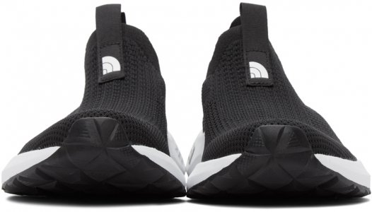 Black Knit Recovery Sneakers The North Face. Цвет: ky4 black