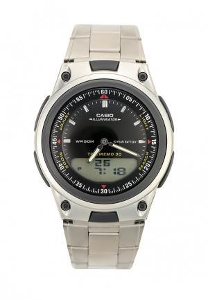 Часы Casio Collection AW-80D-1A. Цвет: серебряный