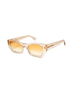 Солнечные очки RETROSUPERFUTURE. Цвет: песочный