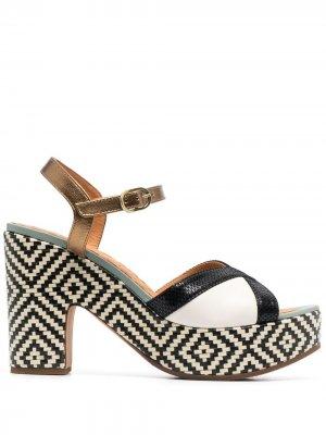 Босоножки на каблуке Chie Mihara. Цвет: нейтральные цвета