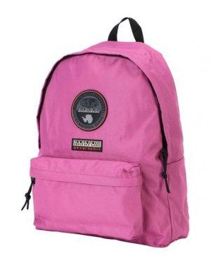 Рюкзаки и сумки на пояс NAPAPIJRI. Цвет: розовато-лиловый