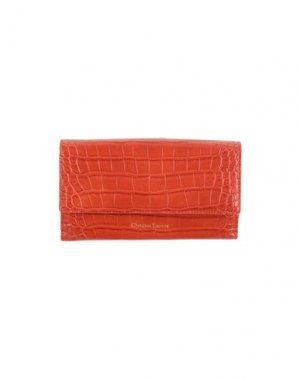 Бумажник CHRISTIAN LACROIX. Цвет: оранжевый