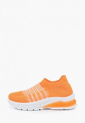 Кроссовки GLAMforever. Цвет: оранжевый