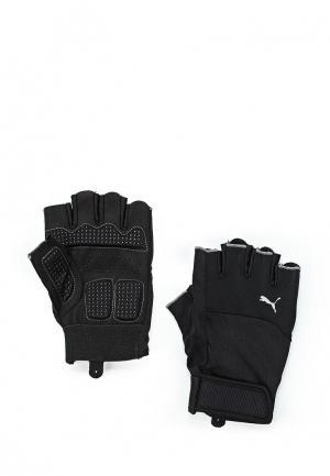 Перчатки для фитнеса PUMA TR Gloves Up. Цвет: черный