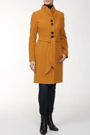 Пальто Elegant Ledy. Цвет: бежевый