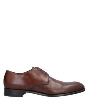Обувь на шнурках CAMPANILE. Цвет: коричневый