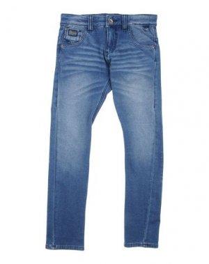 Джинсовые брюки J BE. Цвет: синий