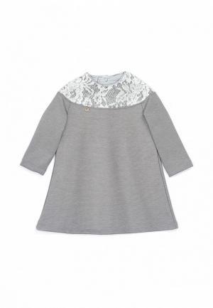 Платье Трия. Цвет: серый