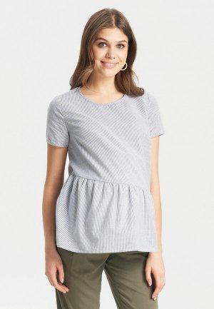 Блуза BuduMamoy. Цвет: серый
