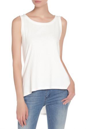 Блузка Топ Silvian Heach. Цвет: белый