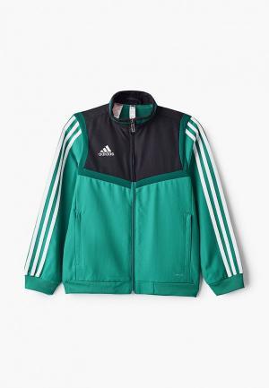 Олимпийка adidas. Цвет: бирюзовый