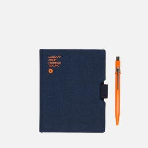 Записная книжка Caran dAche Office A6 Line 192 pgs d'Ache. Цвет: синий