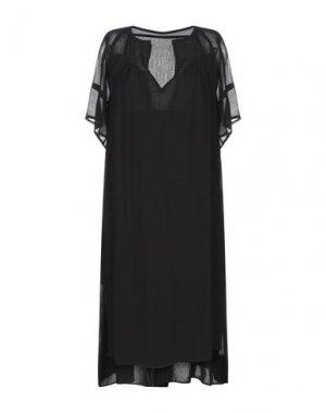 Короткое платье JUST FEMALE. Цвет: черный