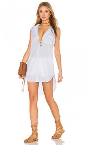 Платье-майка layla Rails. Цвет: белый