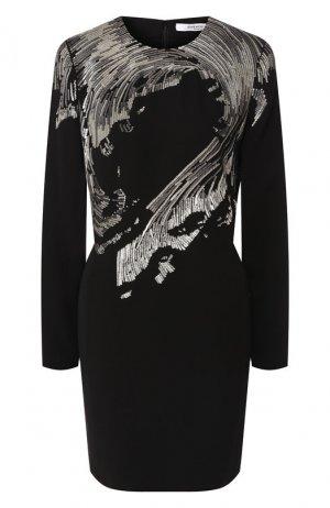 Платье с пайетками Givenchy. Цвет: черный