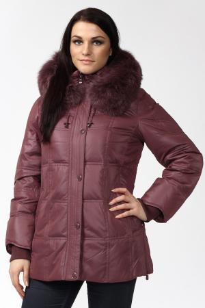 Куртка CITY. Цвет: фиолетовый