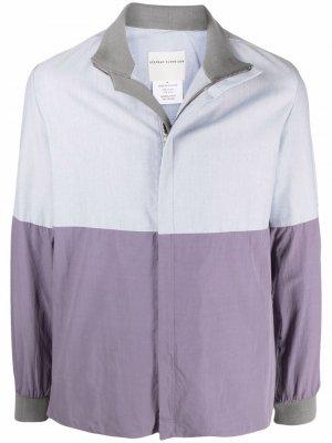 Легкая куртка в стиле колор-блок Stephan Schneider. Цвет: синий