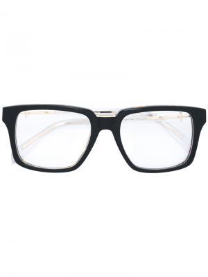 Square frame glasses Balmain. Цвет: чёрный
