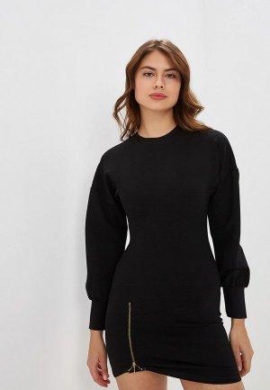 Платье Elle Land. Цвет: черный