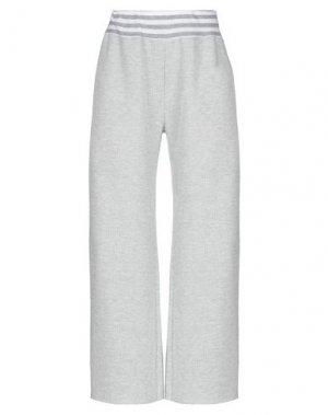 Повседневные брюки BISOUS. Цвет: серый