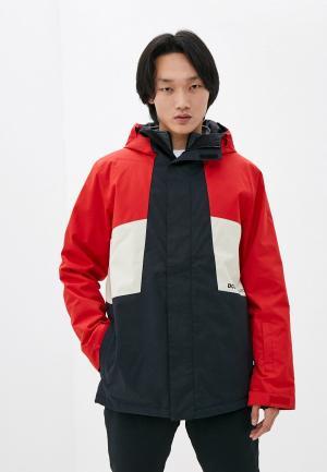 Куртка сноубордическая DC Shoes DEFY M SNJT RQR7. Цвет: разноцветный