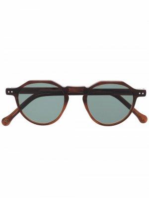 Солнцезащитные очки Icon Lesca. Цвет: коричневый