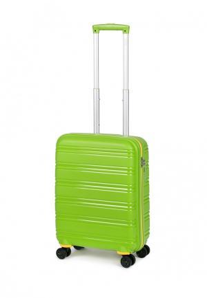 Чемодан Baudet 41 л (S). Цвет: зеленый