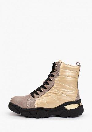 Ботинки Escan. Цвет: бежевый