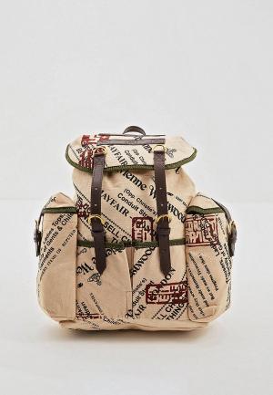 Рюкзак Vivienne Westwood. Цвет: бежевый
