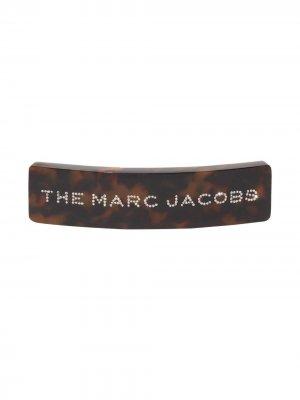 Декорированная заколка для волос Barrette Marc Jacobs. Цвет: коричневый