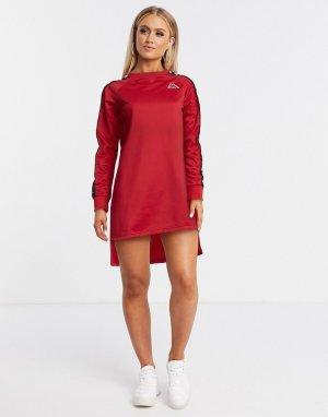 Красное платье-футболка -Красный Kappa